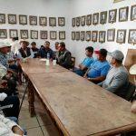SE REUNEN AUTORIDADES DE ZINAPARO CON ENCARGADO DEL ORDEN DE ZIPAQUIO