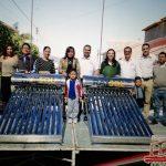 Víctor Vázquez Entrega 1800 Calentadores Solares a Familias Puruandirenses, Apoyando a su Economía y Mejorando su Calidad de Vida