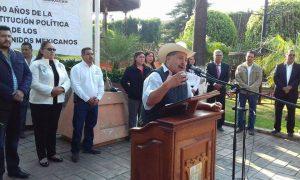 ACTO CÍVICO CONMEMORATIVO AL CENTENARIO DE LA PROMULGACIÓN DE LA CONSTITUCIÓN POLÍTICA DE LOS ESTADOS UNIDOS MEXICANOS DE 1917