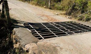 Reparación de Guardaganado en el Entroque a la Autopista Los Fresnos