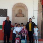 Se Otorga Busto de Vicente Guerrero en Escuela de Zináparo