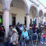 """ENTREGAN APOYOS DE """"65 Y MAS"""" EN NUMARAN"""