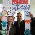 "Arranca ISSSTE Michoacán campaña ""Febrero, Mes de la Salud del Hombre"""