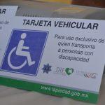 SE PROMUEVEN ENGOMADOS PARA USO EXCLUSIVO DE DISCAPACITADOS