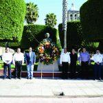 PURUÁNDIRO CONMEMORA EL 211 ANIVERSARIO DEL NATALICIO DE BENITO JUÁREZ
