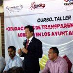 Inician capacitaciones a funcionarios municipales en transparencia y gobierno abierto