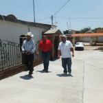 VERIFICA SAMUEL CANCHOLA CALIDAD EN OBRAS EL LA COMUNIDAD DE EL TIGRE