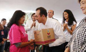 Reafiliará Gobierno del Estado a 27 mil familias al Seguro Popular