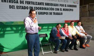 EL GOBIERNO MUNICIPAL ENTREGA FERTILIZANTE SUBSIDIADO POR EL ESTADO