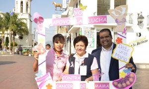 GOBIERNO MUNICIPAL SE SUMA A LA LUCHA CONTRA EL CANCER DE MAMA