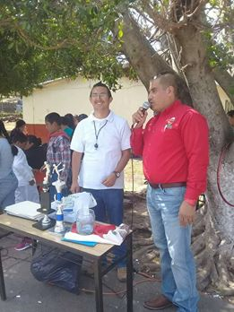 SE APOYA CON ARTICULOS DEPORTIVOS A ESCUELAS DE LA COMUNIDAD DE EL TIGRE
