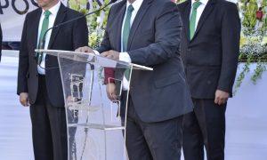 EN PURUÁNDIRO SE REALIZA CEREMONIA DE INCINERACIÓN DE LA BANDERA MONUMENTAL Y BANDERA DEL PALACIO MUNICIPAL