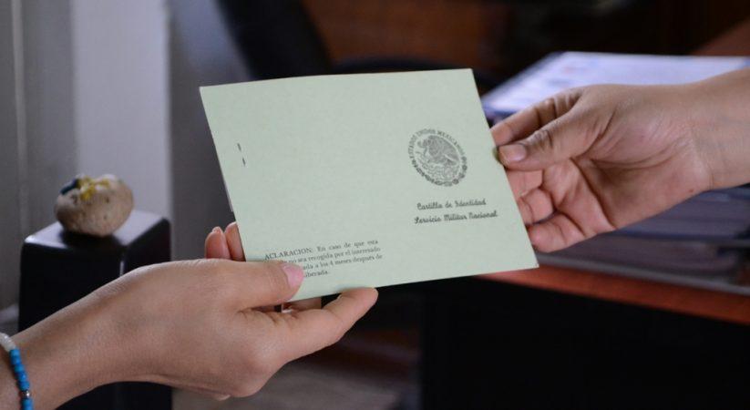HABRÁ ENTREGA DE CARTILLAS MILITARES LIBERADAS SÁBADOS Y DOMINGOS DE DICIEMBRE