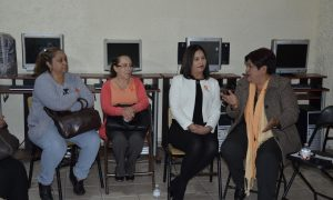 SERVIDORAS Y SERVIDORES PÚBLICOS SE INVOLUCRAN EN COADYUVAR PARA TENER UNA SOCIEDAD SIN VIOLENCIA