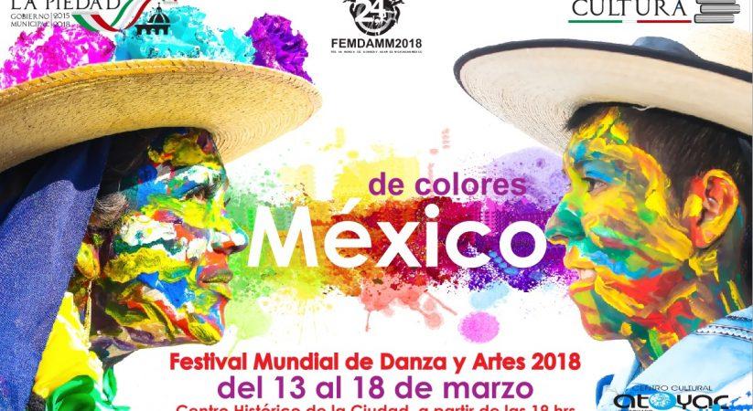 LA PIEDAD ABRE SUS PUERTAS AL FESTIVAL MUNDIAL DE DANZA Y ARTES
