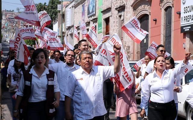 ARRANCA RAMON MAYA, CANDIDATO DE MORENA A LA PRESIDENCIA MUNICIPAL DE LA PIEDAD