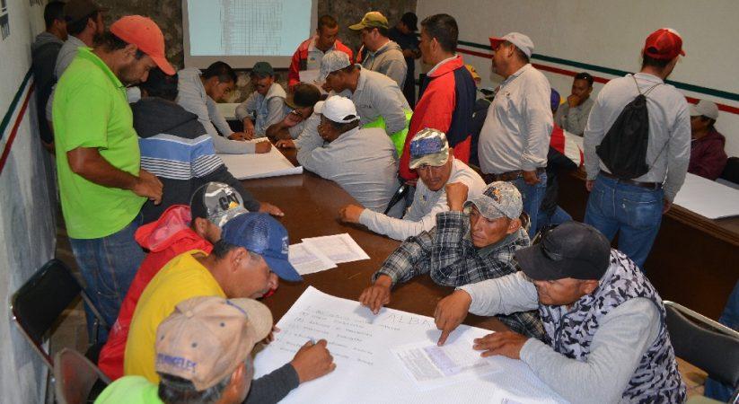 IMPARTEN TALLER SOBRE CONDICIONES DE SEGURIDAD A PERSONAL DE OBRAS PÚBLICAS
