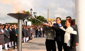 ALCALDE DE LA PIEDAD INVITA A LOS JÓVENES A RESCATAR NUESTROS VALORES CÍVICOS