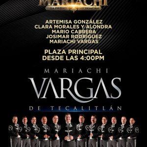 MARIACHI VARGAS DE TECALITLÁN ESTARÁ EN LA PIEDAD
