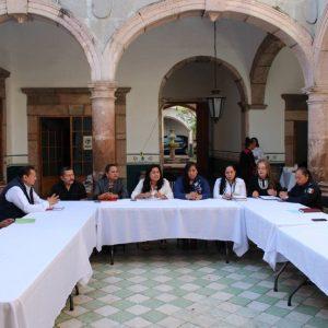 COORDINAN ACCIONES ENTRE AYUNTAMIENTOS DE LA REGION Y MINISTERIO PUBLICO EN PURUANDIRO