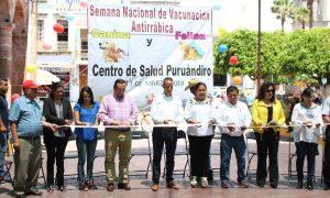 INICIA LA PRIMERA SEMANA NACIONAL DE VACUNACION ANTIRRABICA EN PURUANDIRO